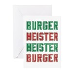 Burger Meister Meister Burger Greeting Cards (Pk o