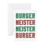 Burger Meister Meister Burger Greeting Card