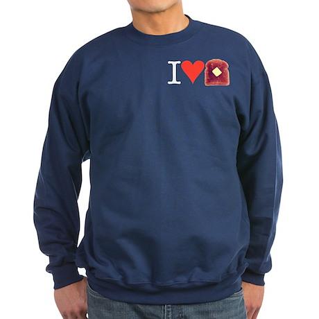 Love Toast Sweatshirt (dark)