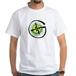 GPScaches White T-Shirt