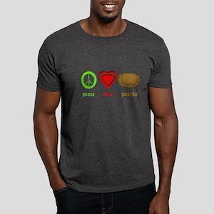 Peace, Love, Pasties Dark T-Shirt