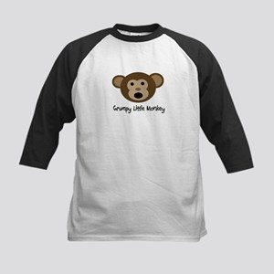 Grumpy Monkey Kids Baseball Jersey