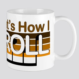 How I Roll Bluegrass Mug