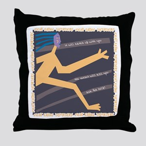 Ask for Help Throw Pillow