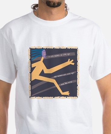 Ask for Help White T-Shirt