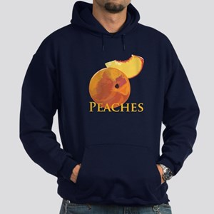 Velvety Peaches Hoodie (dark)