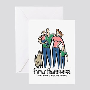 Family Awareness Greeting Card