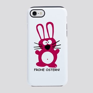 Frohe Ostern Happy Easter Ge iPhone 8/7 Tough Case