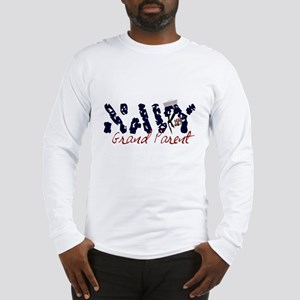 Navy Grandparent Long Sleeve T-Shirt