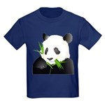 Panda Bear Kids Dark T-Shirt