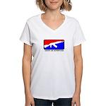 GAM Women's V-Neck T-Shirt
