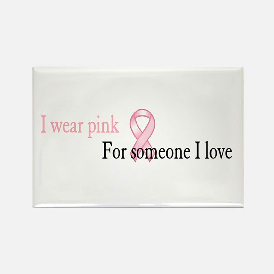 Cute Stand up cancer Rectangle Magnet