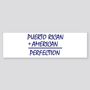 Puerto Rican American heritage Bumper Sticker
