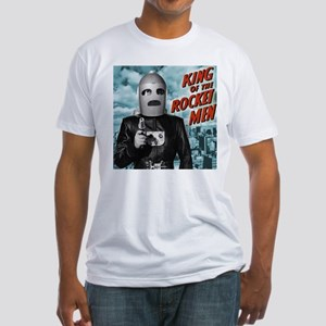 King of the Rocket Men Fitted T-Shirt