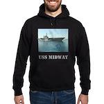 USS Midway Hoodie (dark)
