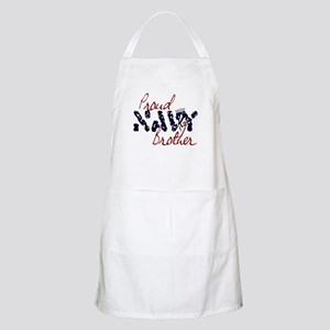 Proud Navy Brother BBQ Apron