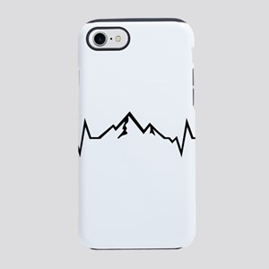 Mountain - Heartbeat Tanks iPhone 8/7 Tough Case