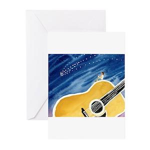Bluegrass guitar greeting cards cafepress m4hsunfo