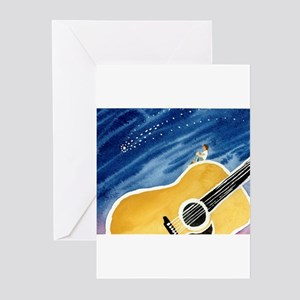 Bluegrass guitar greeting cards cafepress acoustic guitar dream greeting cards pk of 10 m4hsunfo