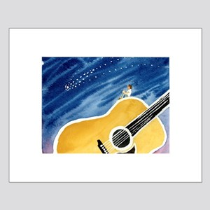 Acoustic Guitar Dream Small Poster