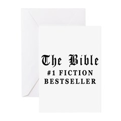 The Bible Fiction Bestseller Greeting Cards (Pk of