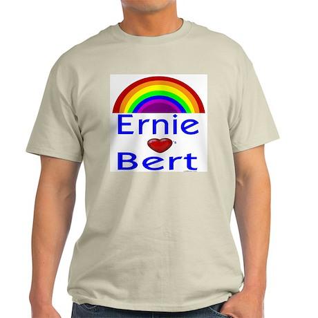 Ernie (hearts) Bert Light T-Shirt