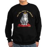 Must be Obeyed Sweatshirt (dark)