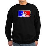 weed sports logo Sweatshirt (dark)