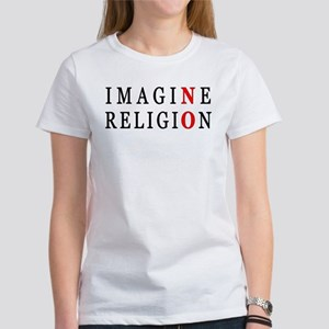 Imagine No Religion Women's T-Shirt