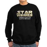 Star Whores episode cum Sweatshirt (dark)