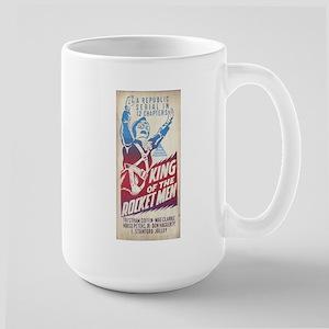 King of the Rocket Men Large Mug