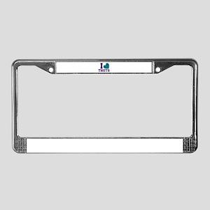i License Plate Frame