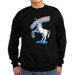 Rainbow Unicorn Sweatshirt (dark)