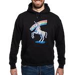 Rainbow Unicorn Hoodie (dark)