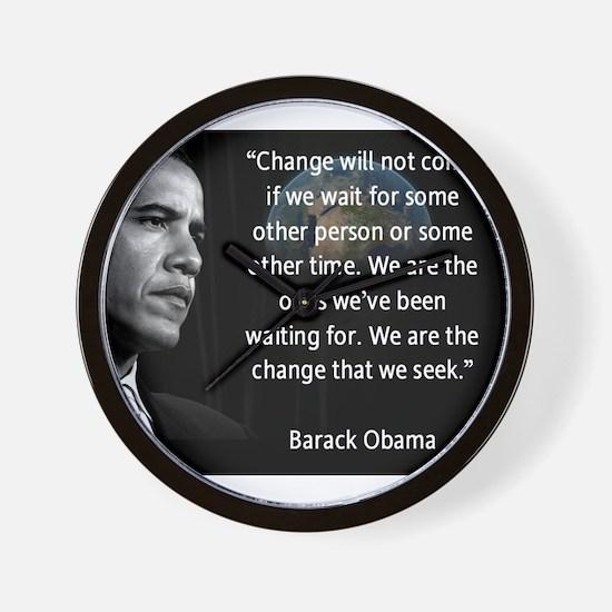 Pro obama Wall Clock
