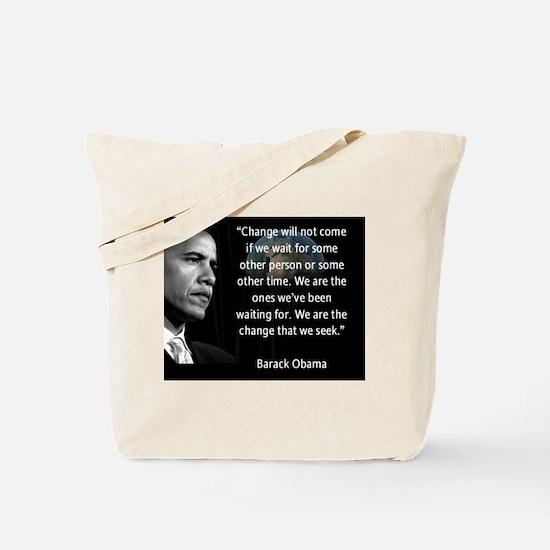 Cute Obama Tote Bag