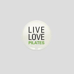 Live Love Pilates Mini Button
