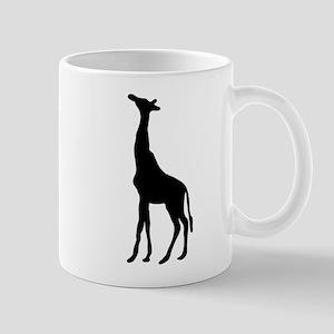 White giraffe Mugs