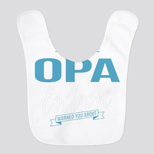 Crazy Opa Polyester Baby Bib