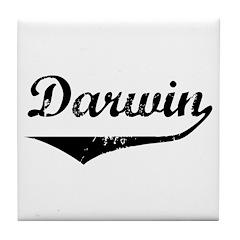 Darwin Tile Coaster