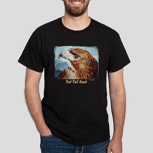 Mya-Red-tail Hawk Dark T-Shirt