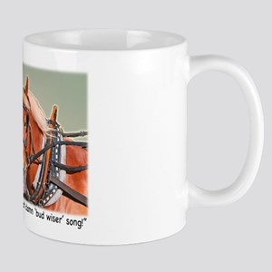 Belgian Draft Horse Song Mug