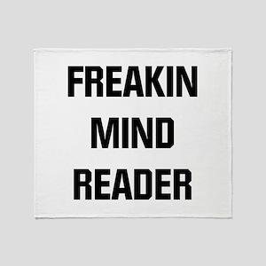 Freakin Mind Reader Throw Blanket