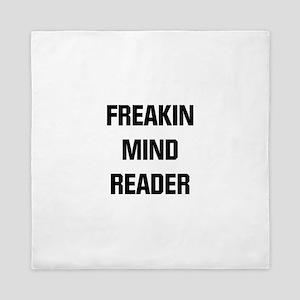 Freakin Mind Reader Queen Duvet