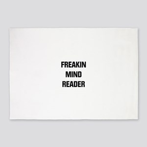 Freakin Mind Reader 5'x7'Area Rug