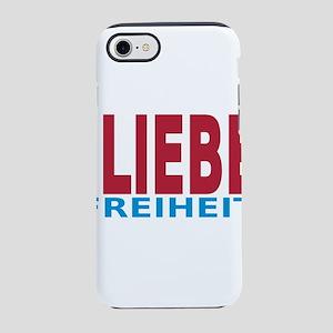 Fieden Liebe Freiheit 3-3 iPhone 8/7 Tough Case