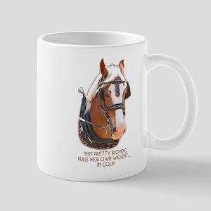 Belgian Gold Mug
