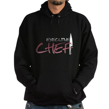 Red Executive Chef Hoodie (dark)