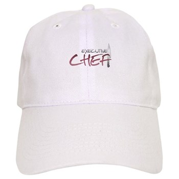 Red Executive Chef Cap