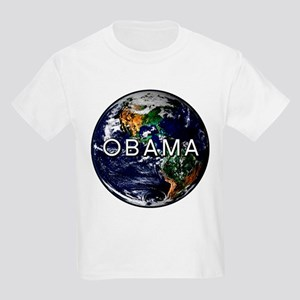 OBAMA PLANET Kids Light T-Shirt